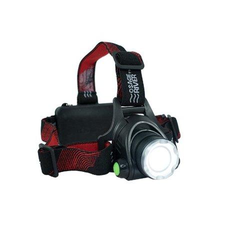 Osage River 1800 Lumen LED Rechargeable Headlamp
