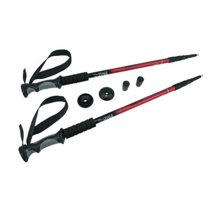 Osage River Trail Trekking Poles 1-Pair Red