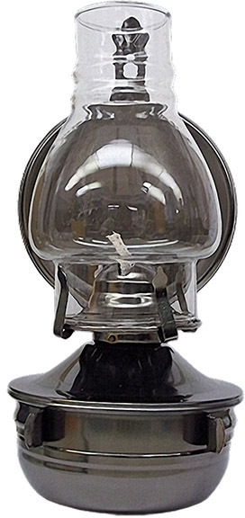 L365PW 10 PEWTER OIL/CDLE LAMP