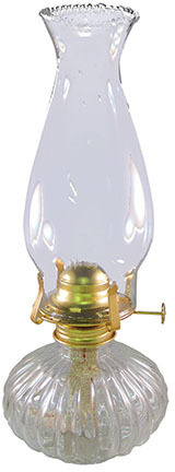 L397CL 13 IN. CL ECLIPSE OIL LAMP