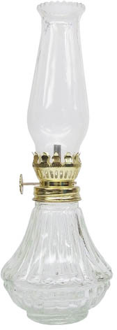L808CL 9 IN. CL DAY LITE OIL LAMP