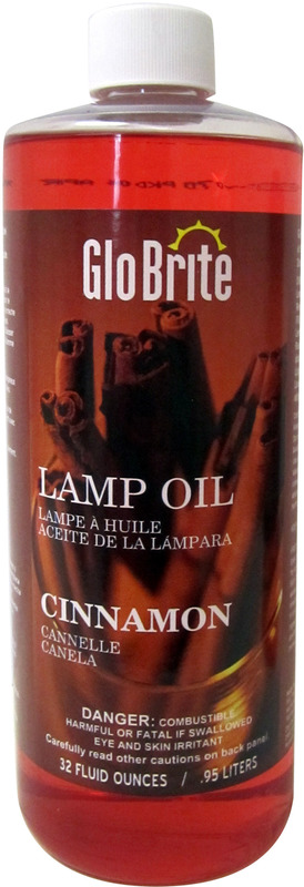 L525 32OZ CINNAMON LAMP OIL