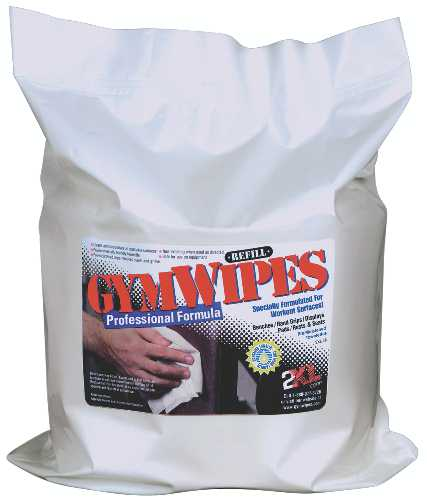 GYM WIPES PROFESSIONAL REFILL 700 COUNT
