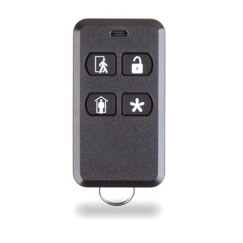 2gig 4-Button Key Ring Remote ETL Listed
