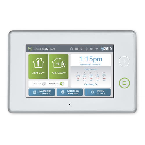 "2gig 7"" Wireless Security-Control Panel"