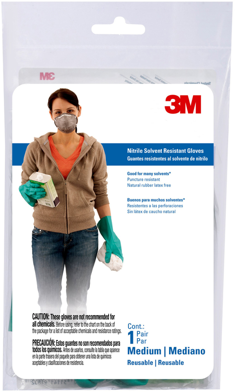 90011 MED NITRILE GLOVES