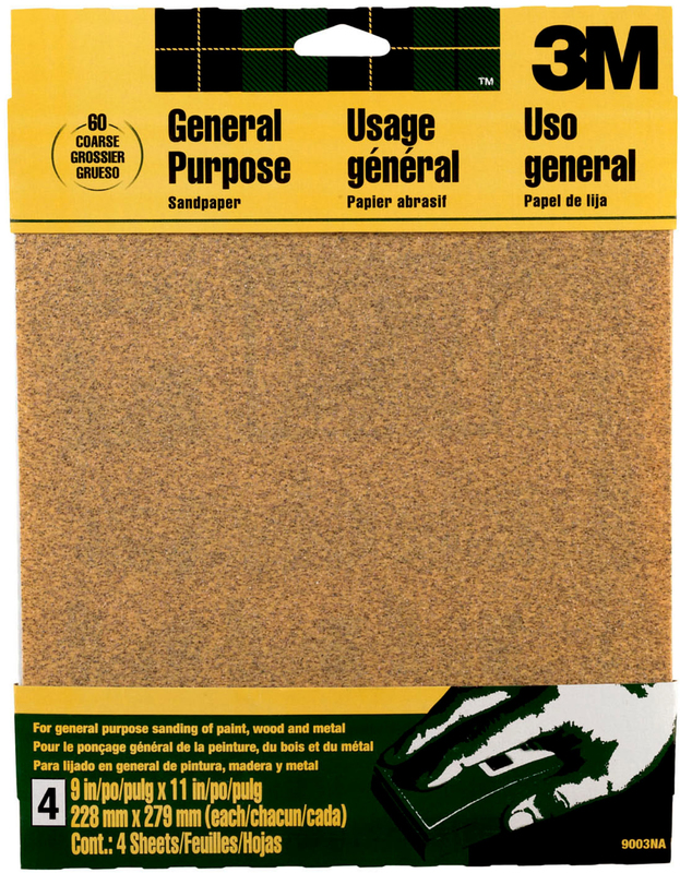 9003 COARSE PROD PAPER SANDPAK