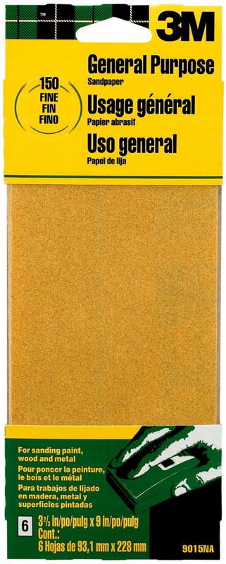9015 PROD SAND-PAK SHEETS FINE