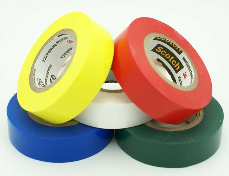 35 3/4 IN. X66 FT. BLUE ELECTRICAL TAPE