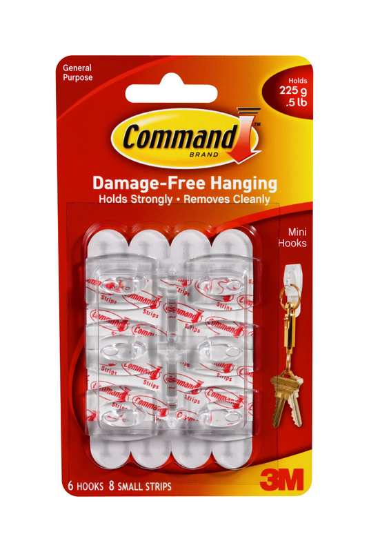 17006 COMMAND MINI HOOKS