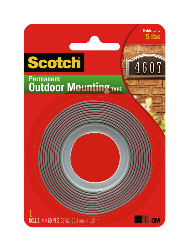 4011 1X60 In. Exterior Mounting Tape