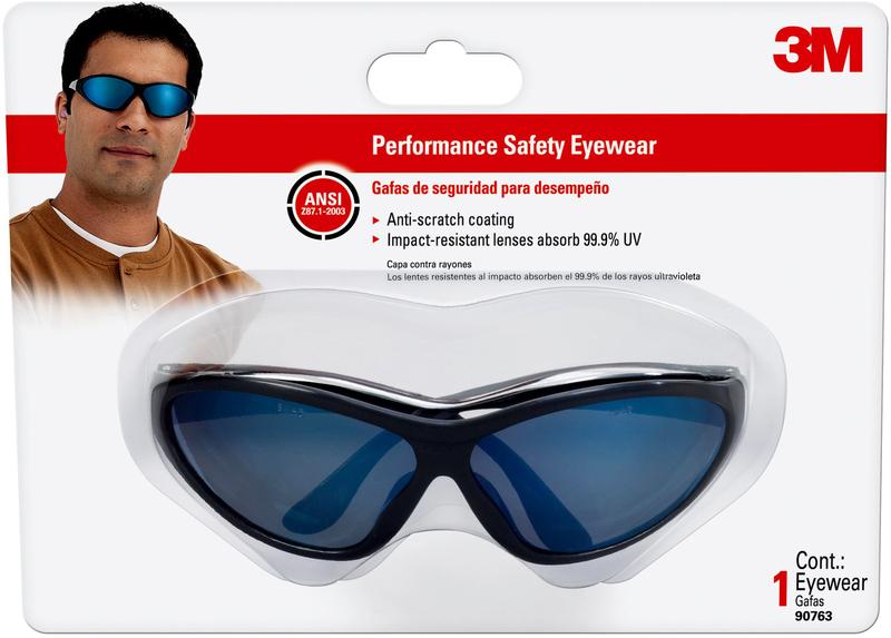 90763-80025 BLK SAFETY GLASSES