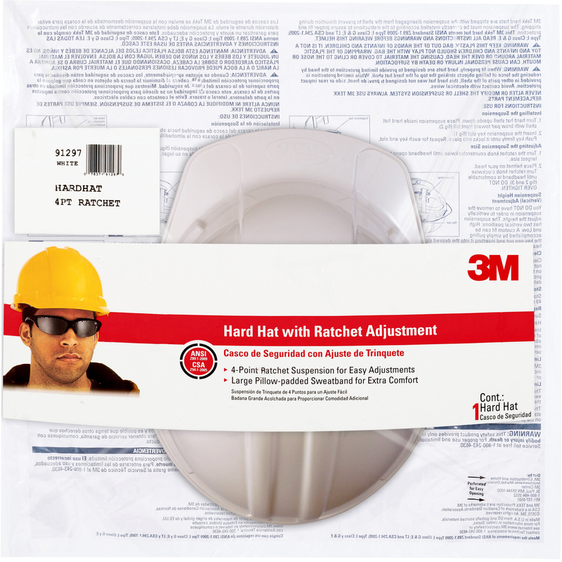 CHH-R-W6 WHITE HARD HAT