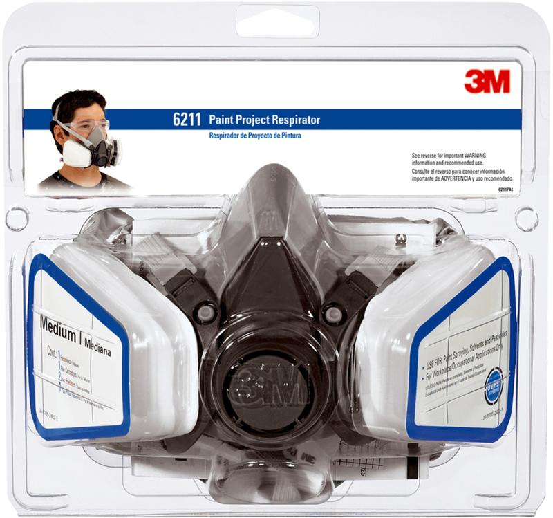 R6211 DUAL CARTRIDGE RESPIRATOR