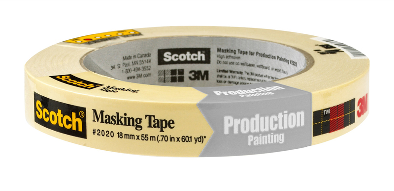 2020 3/4 IN. X60YD MASKING TAPE