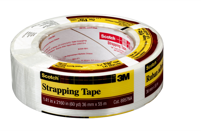 8957 1-1/2 IN. X60YD STRAP TAPE