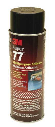 3M SUPER 77 MULTI ADHESIVE AEROSOL 16.5 OZ.