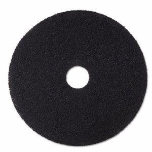 "Low-Speed Stripper Floor Pad 7200, 20"" Diameter, Black, 5/Carton"
