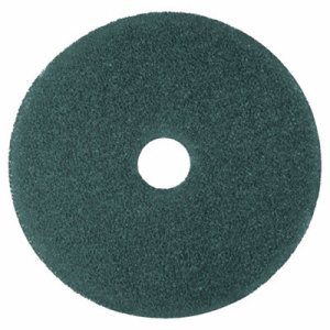 "Cleaner Floor Pad 5300, 17"" Diameter, Blue, 5/Carton"