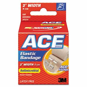 """Elastic Bandage with E-Z Clips, 2"""" x 50"""""""