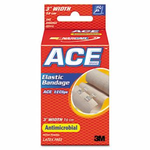 """Elastic Bandage with E-Z Clips, 3"""" x 64"""""""