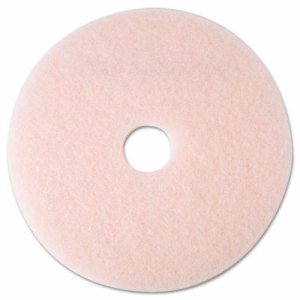"Ultra High-Speed Eraser Floor Burnishing Pad 3600, 19"" Diameter, Pink, 5/Carton"
