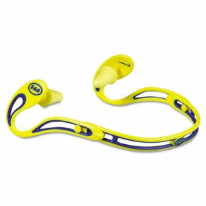 E�A�R Swerve Banded Hearing Protector, Corded, Yellow