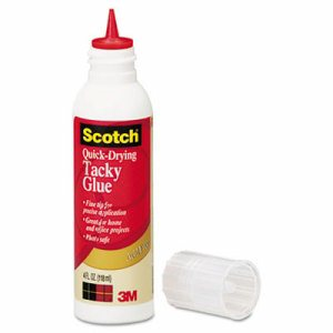 Quick-Drying Tacky Glue, 4 oz, Precision Tip