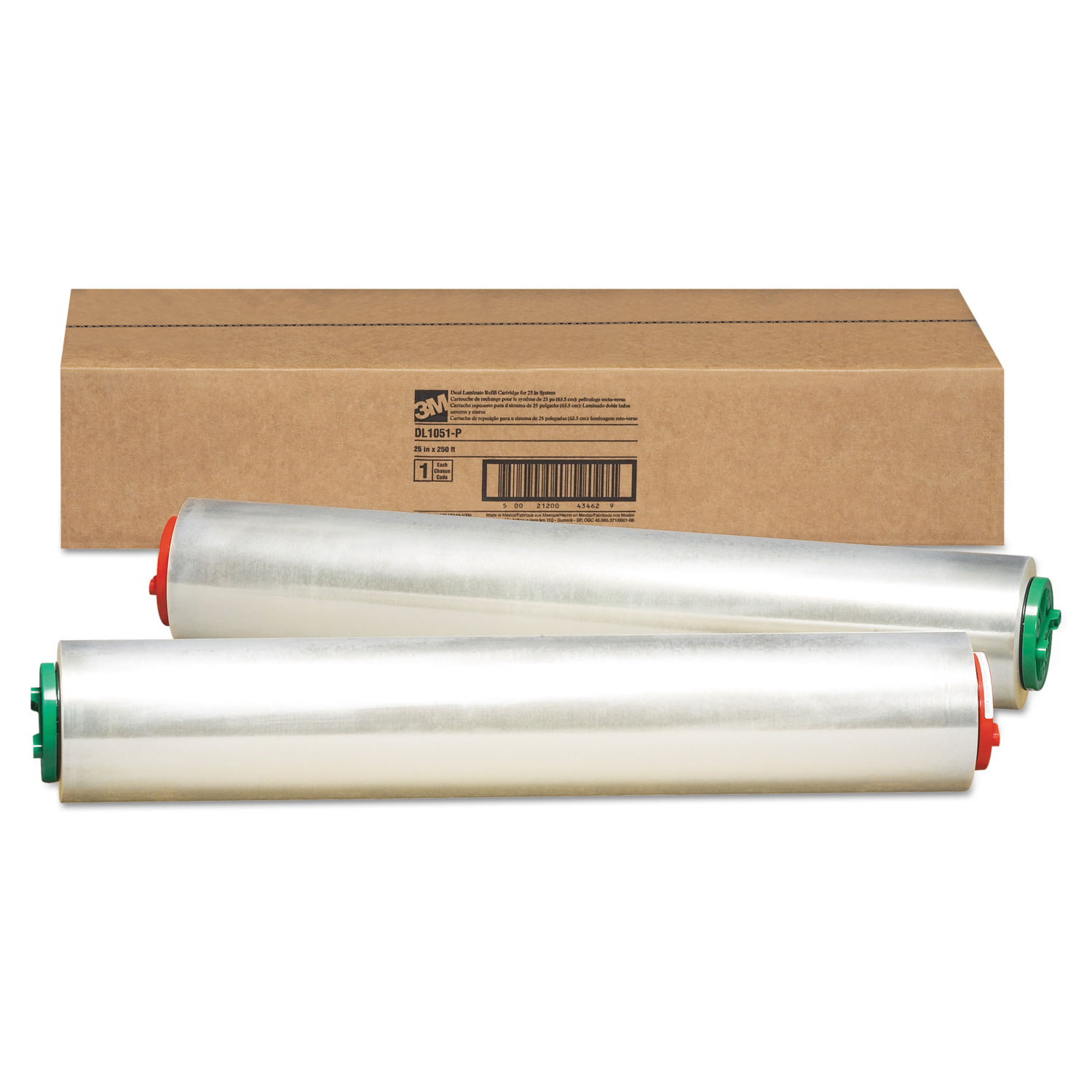 Refill Cartridge for Heat-Free Laminating Machines, 250 ft.