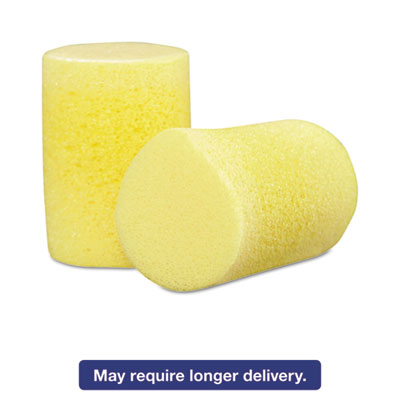 E�A�R Classic Single-Use Earplugs, Cordless, 29NRR, Yellow, 200 Pairs
