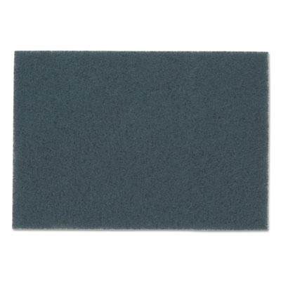 "Blue Cleaner Pads 5300, 18"" x 12"", Blue, 5/Carton"