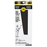3M 99440 Drywall Sanding Screen, 11 in x 4-3/16 in, 100 Grit