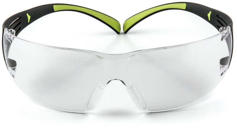3M SF400C-WV-6 Safety Glasses, Indoor, Clear Lens