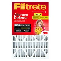 Filtrete 9826DC-6 Micro Allergen Air Filter, 24 in L x 20 in W x 1 in T, 1000 micron