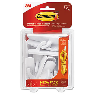 HOOK UTILITY MEDIUM MULTI-PACK