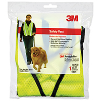 Tekk Protection 94601 Adjustable Day/Night Reflective Safety Vest, One Size Fits All, Fabric