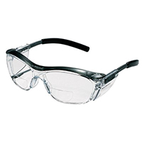 3M 91191-00002T Safety Glasses, Magnifier/Reader, Clear Lens