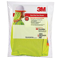 3M 94800-80030 Hard Hat Sun Shade, High-Visibility, Yellow