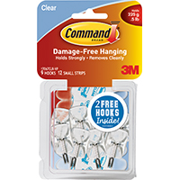 HOOK WIRE ADH VP SMALL CLEAR