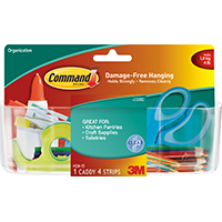 Command HOM-15 Large Clear Caddy