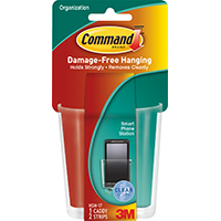 Command HOM-17 Clear Smart Phone Station