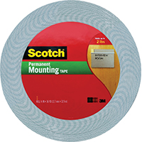 3M 4016 Foam Tape, 1 in W x 36 yd L x 62 mil T, Acrylic Adhesive, Foam Backing, Off-White Tape