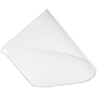 3M 90030-80000T Replacement Faceshield Window, 4.5 in L x 9.8 in W, Polycarbonate, Clear