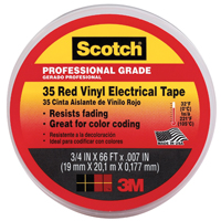 3/4 RED ELECTRICAL TAPE