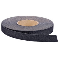 3M Safety-Walk Anti-Slip Tape, 60 ft L x 1 in W, Rubber, Vinyl, Black, Medium