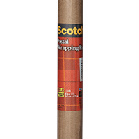 Scotch 7900 Postal Wrapping Paper, 5 yd L X 2-1/2 ft W, NO 60 Kraft