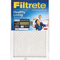 Filtrete UA24DC-6 Ultimate Allergen Reduction Air Filter, 30 in L x 14 in W x 1 in T, 1900 micron