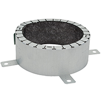 FIRE BARRIER PIPE COLLAR 4IN