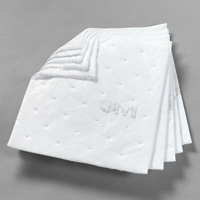 "3M+ Petroleum Sorbent Pad High Capacity 17""x19"""