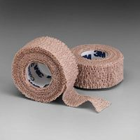 "3M+ 1"" X 5 Yards Tan Coban+ Self-Adherent Wrap"